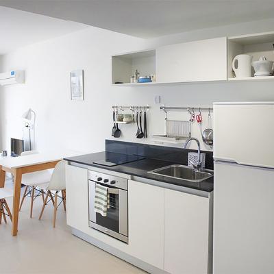 Interiorismo en vivienda vacacional de 40 m2