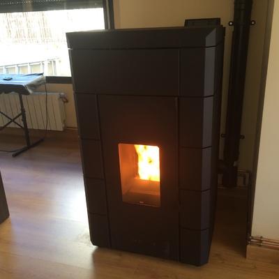 Instalación de calefacción vivienda Urb. La Quinta
