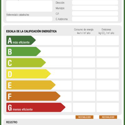 Certificados de eficiencia energética, Madrid