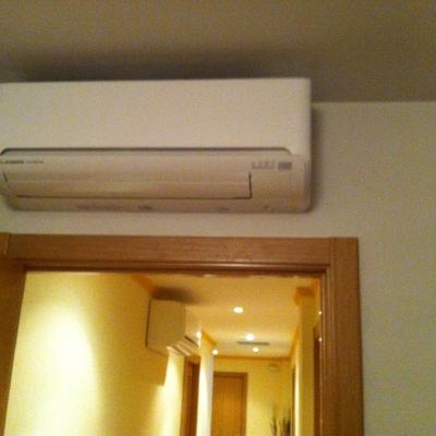 Proyecto Instalación 2 unidades de climatización 2 x 1