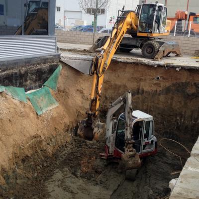 excavacion piscina