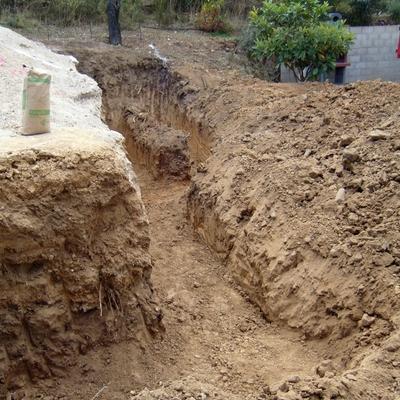 Excavación zanja
