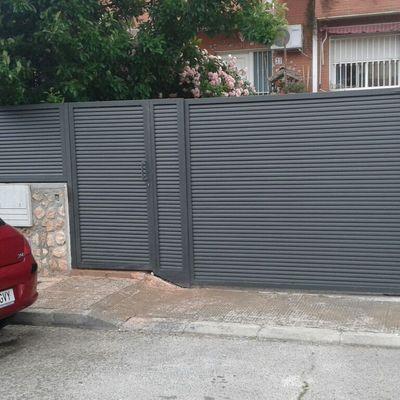 Cerramiento lama elíptica en Madrid