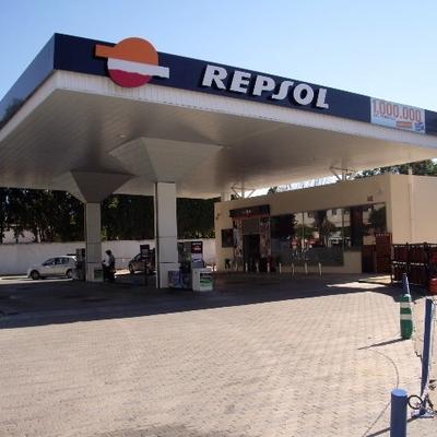Gasolinera en Jerez de la Frontera