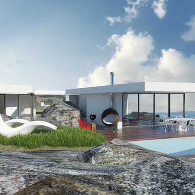 Casa da pedra. 2017- en proyecto