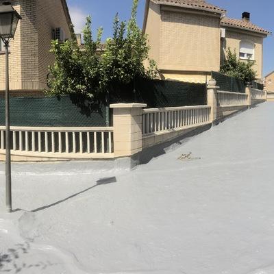 Impermeabilización de pavimentos en Comunidad Ardales de Blanes