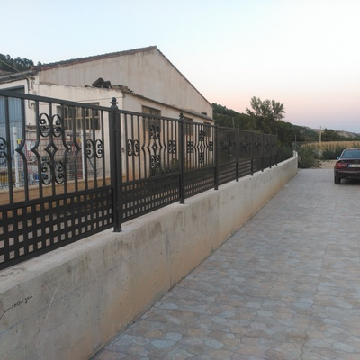 Fabricación de paneles de forja