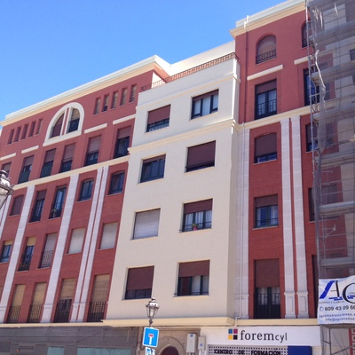 Reforma de fachada y tejado