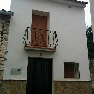 Rehabilitación de fachada en ALCUDIA DE VEO.