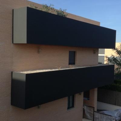 Exterior : de vivienda