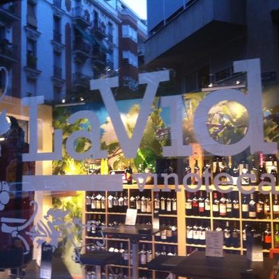 La Vid Vinoteca en Madrid