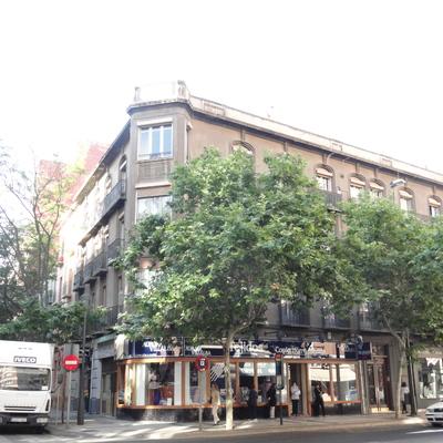 Proyecto de rehabilitación de fachada de edificio catalogado en calle Hernan Cortés (Zaragoza)