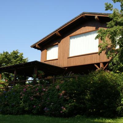 Vivienda de madera tratada con máximo nivel de aislamiento