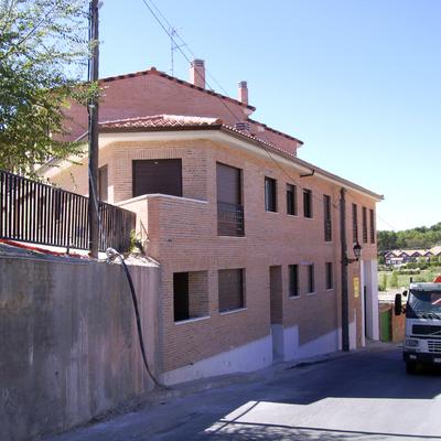 Fachada de calle Esquivias