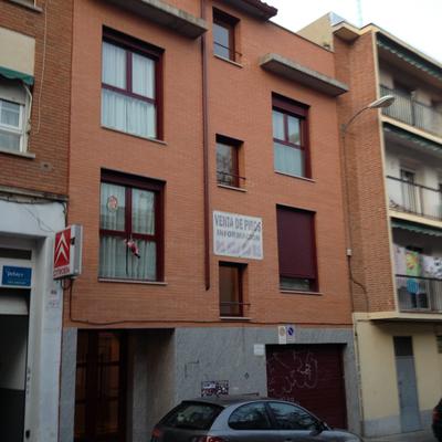 Fachada de calle Vicente Camarón