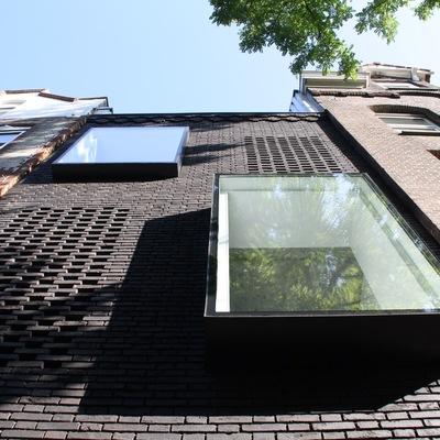 Una casa que aprovecha el vacío urbano