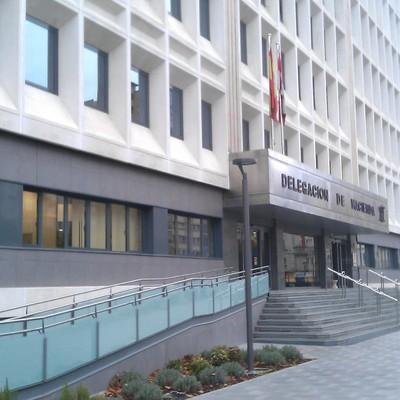 Rehabilitación Fachada Edificio de Hacienda en Burgos