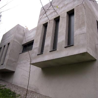 Fachada lateral habitaciones