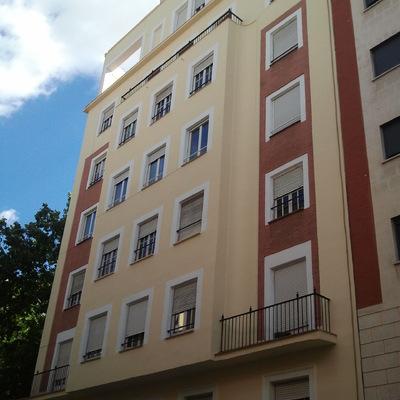 Restauración de la fachada de la calle Marques de Urquijo 20, Madrid