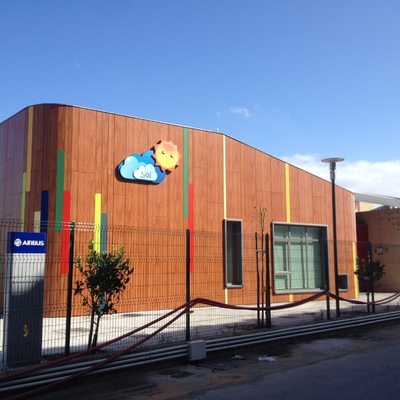 Escuela Infantil Sol en la Factoría Airbus de Puerto Real (Cádiz)