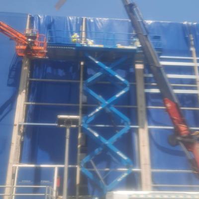 Rehabilitación fachada Obra Ikea Baracaldo
