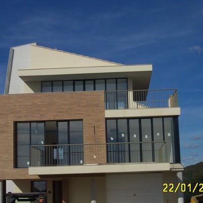 Proyecto de construcción de vivienda unifamiliar aislada