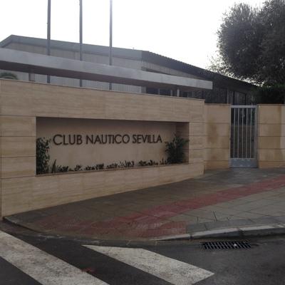 Nuevo acceso al club nautico Sevilla