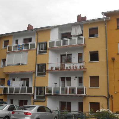 Rehabilitación energética de fachadas C. María, en Barakaldo