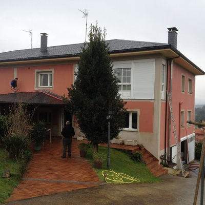 Aislamiento Térmico de Vivienda Unifamiliar en Taragoña (Rianxo)