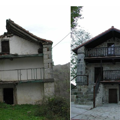 Rehabilitación de cabaña en Cantabria