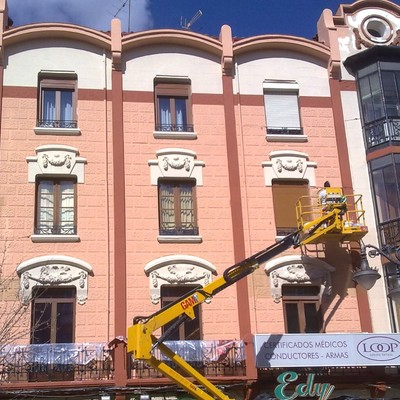 Rehabilitación fachada emblemática