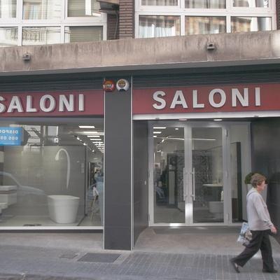 Reforma de local para tienda Saloni Valencia