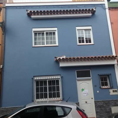 Reparación de fachada en Barrio de San Honorato - La Laguna