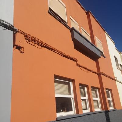 Reparación de fachada en Barrio de los Molinos - La Laguna
