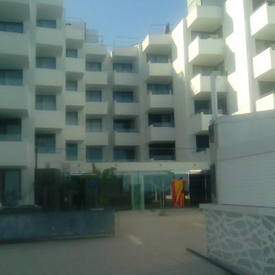 Decoración en hotel en Ibiza