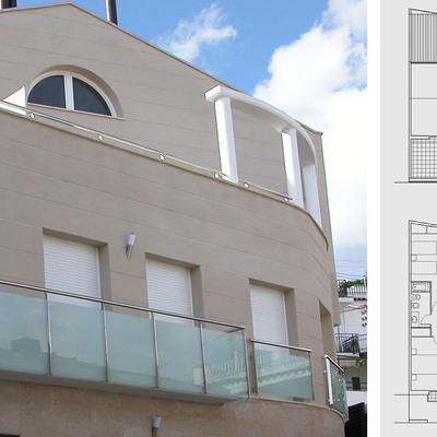 Edificio Bifamiliar en Premià de Dalt (Barcelona).