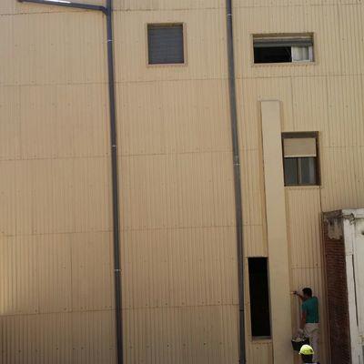 Reforma de una fachada en Reus