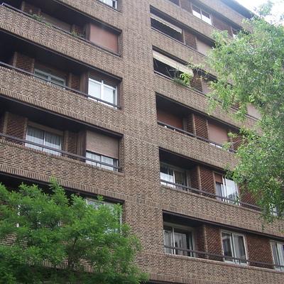 Rehabilitación de fachada en le barrio de Salamanca