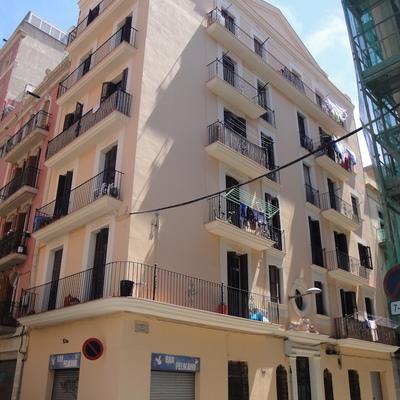 Rehabilitación fachada Begur en Barcelona