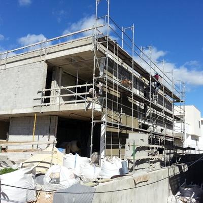 DOS VIVIENDAS UNIFAMILIARES ADOSADAS DE NUEVA CONSTRUCCIÓN, CALLE FLAMENC SOMETIMES (PALMA)