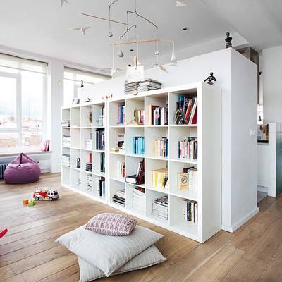 Un moderno loft con alma boho