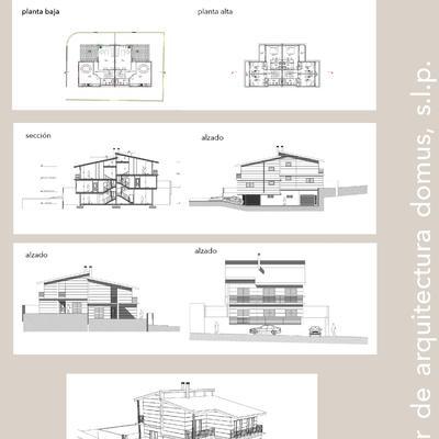 Dos viviendas adosadas