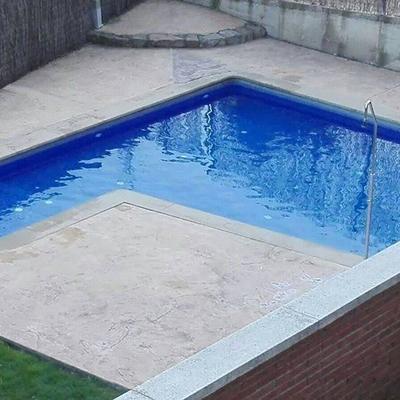 Varias reparaciones piscina