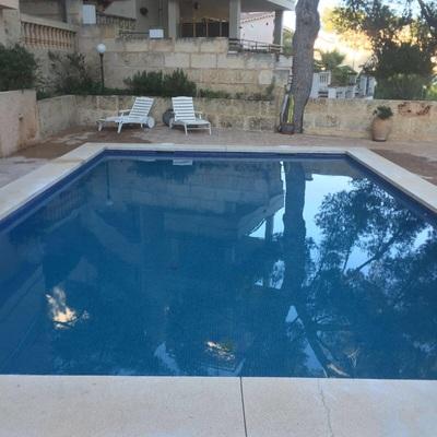 Reparaciones en piscina por pérdida