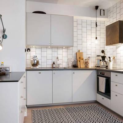 Ideas y fotos de alfombras cocina para inspirarte - Alfombras para cocina ...