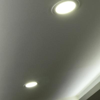 Instalación tira led luz indirecta y focos led