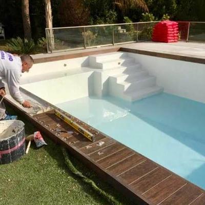 Reforma piscina.