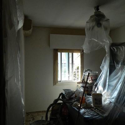 forrado y preparacion paredes