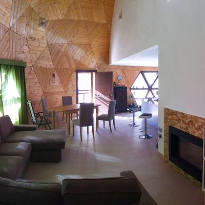 Vivir en un ¿iglú? No, es una vivienda geodésica
