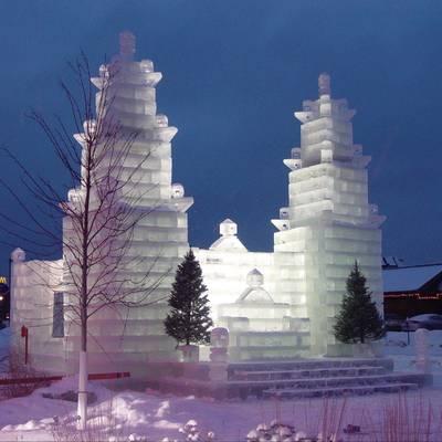 Los diez edificios de hielo más sorprendentes del mundo. ¡Abrígate bien!